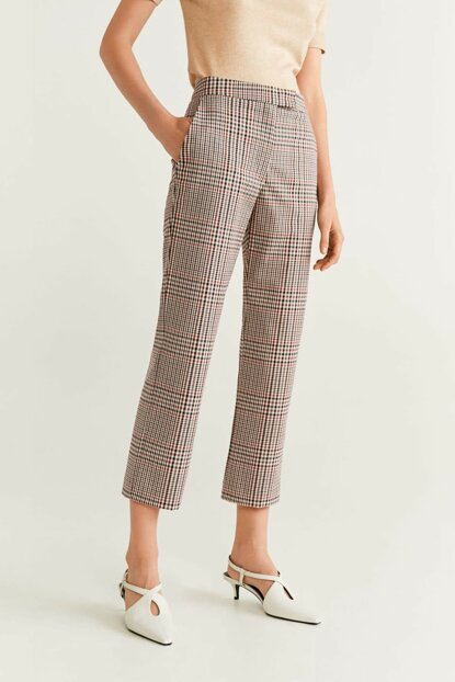 Women's Brown Trousers, Pants 51013728