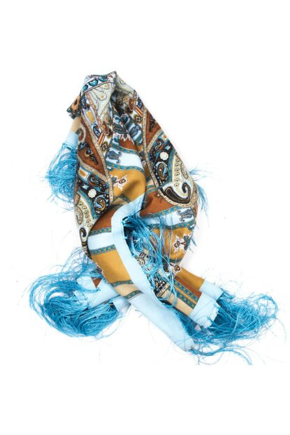 Scarf with tassels 120 cm 11646548