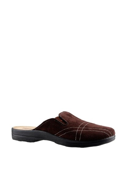 Brown Men's Slippers 18A04057