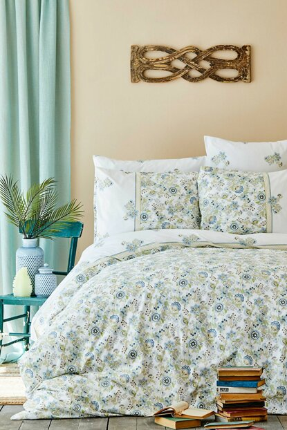 Molly Blue Rnf Double Duvet Cover Set 200.15.01.0088