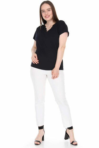Women's Navy Blue Blouse 2299