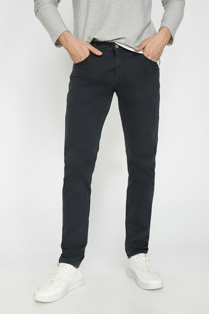 Men's Black Pocket Detailed Trousers 0KAM41100BW