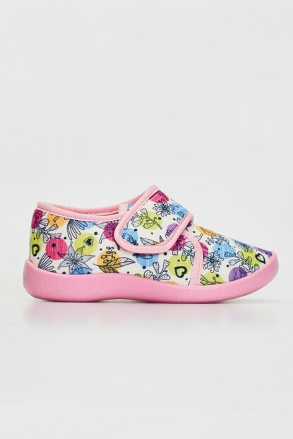 Girl Kids WHITE PRINTED LU7 Home Shoes 9WU471Z4