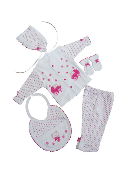 Pink Set of 5 Premature Points SEMA212122