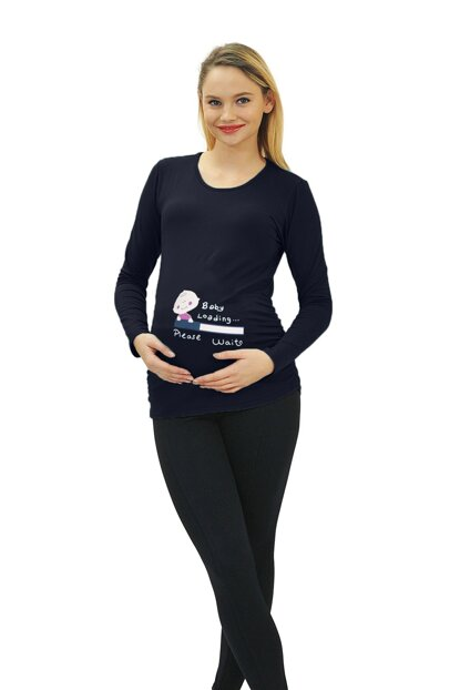 Maternity Baby Loading T-shirt Long Sleeve 3135L