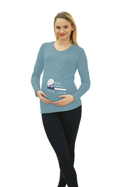 Maternity Baby Loading T-shirt Long Sleeve 3135M