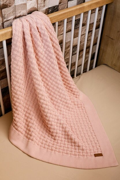 Fairy Tale Baby Blanket Pink 90X90 8682132050553