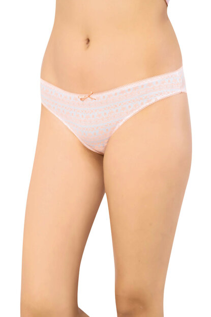 Women's Patterned Slip Briefs 23683-1