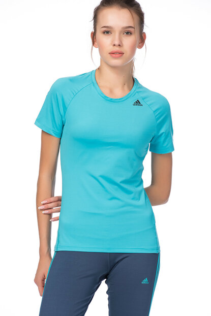 Women's Training T-shirt - D2M Tee Solid - BK2693