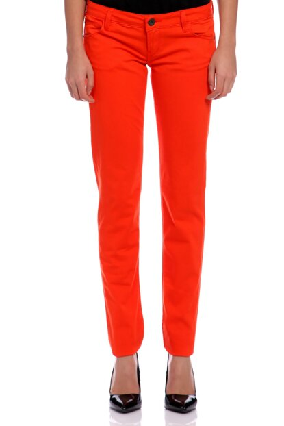 Women's Orange Pants GU51W44003W3BQ0-ORANGE