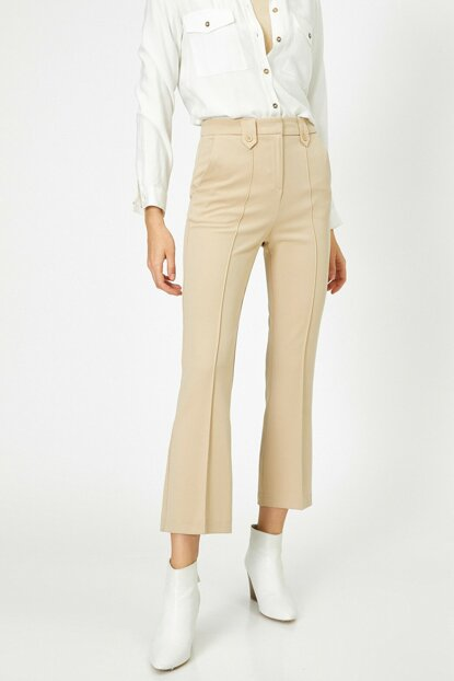 Women's Camel Feather Pants 0KAK42576UW