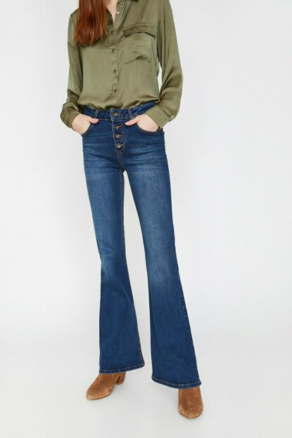 Women Blue Trousers 0YAK47993MD