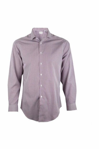 Burgundy Men's Shirt 33K2491-604