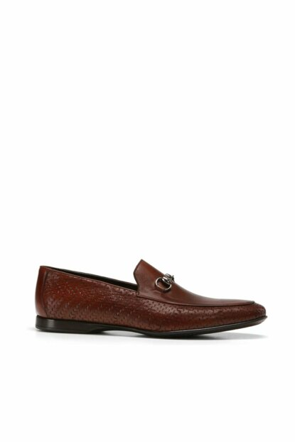 Genuine Leather Brown Men Shoes 02AYH138890A480