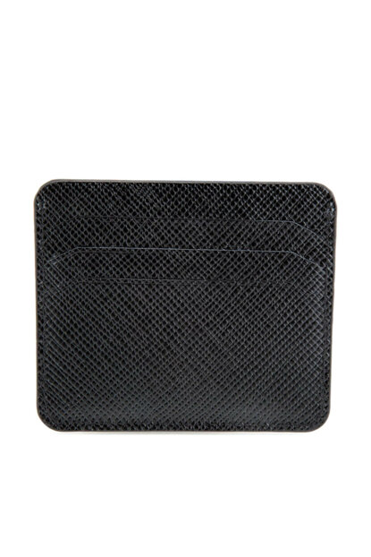 Genuine Leather Black Men Wallet 06CUH132880A100