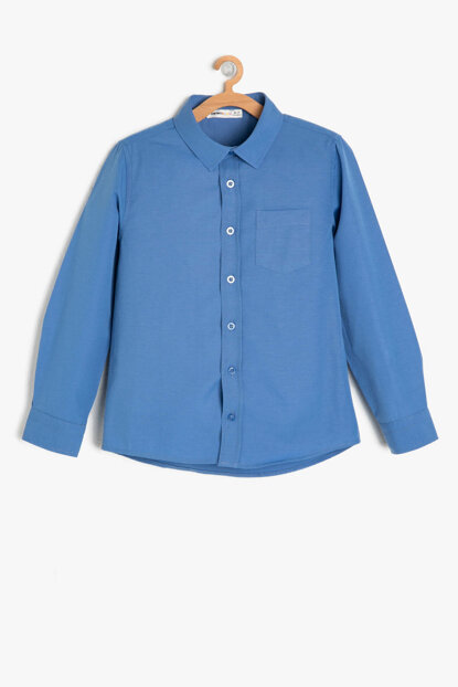 Blue Boy Classic Collar Shirt 9KKB66158OW