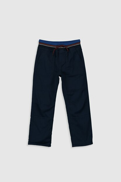 Boys K.Navy Blue Trousers 9W7605Z4