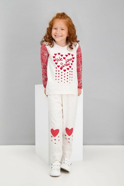 We Love Snow Kremmelanj Girls' Pajamas Set RP1581-C