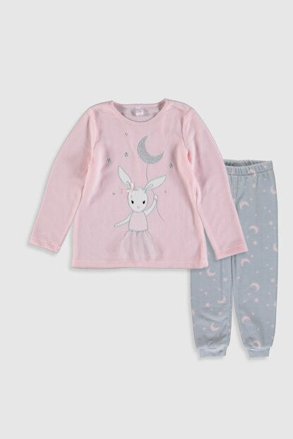 Girls' Light Pink Fsa Pajamas Set 9W0921Z4
