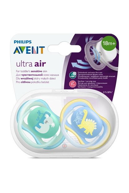 Ultra Air Pacifier 18m + Male 8710103896128