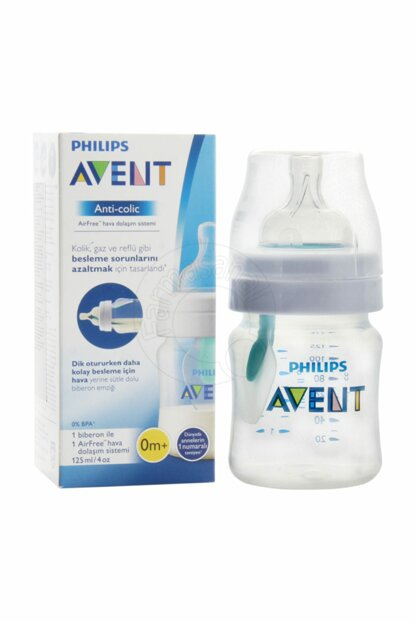 Philips Avent Anti Colic Feeding Bottle 0m + 125 ml 5052