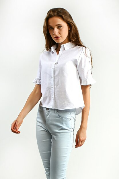 Women's White Shirt HEUR UCB010332A52