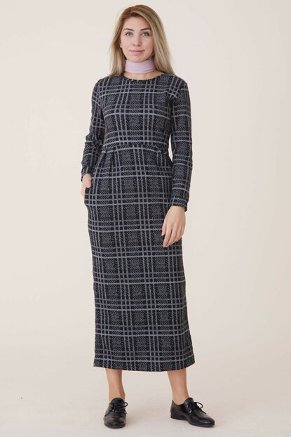 Women's Gray Dress Nassah-UU-9W1012