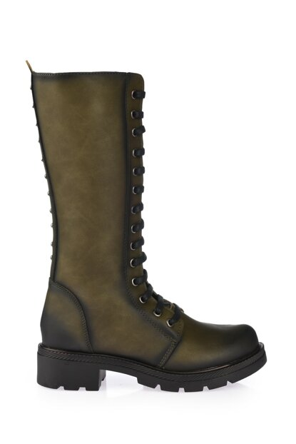 Green Women Boots & Bootie 01BOY164560A840
