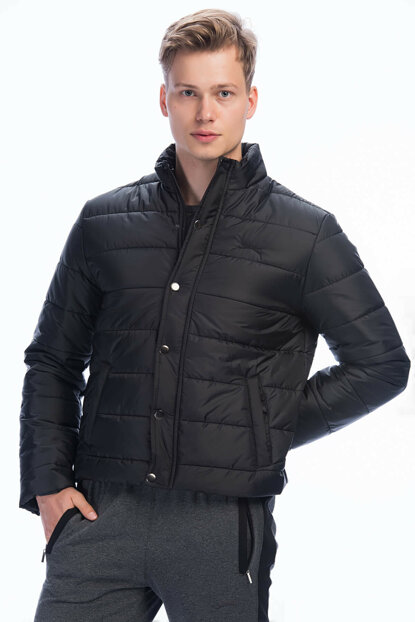 Men's Black Jacket - BORA - ST27JE010-500