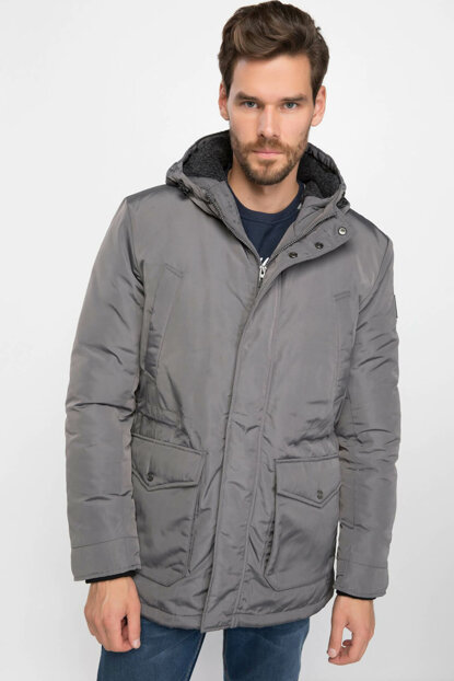 Men's Hooded Parka I8013AZ.18WN.GR221