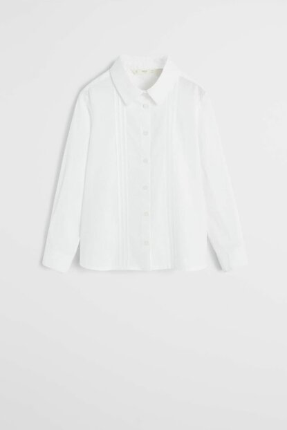 Off White Girl Child Trimmed Shirt 53070772