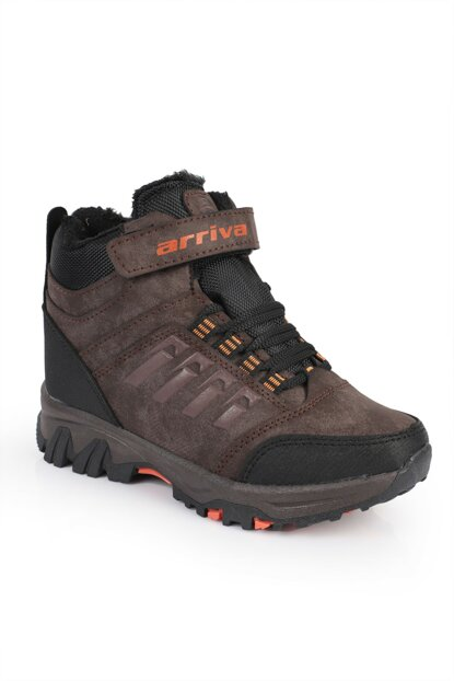 Brown Unisex Boots DXTRSTRKNG1954