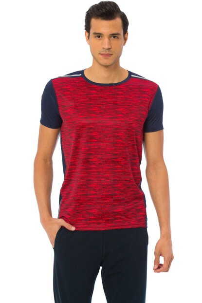 Men's Red T-Shirt 7KG658Z8