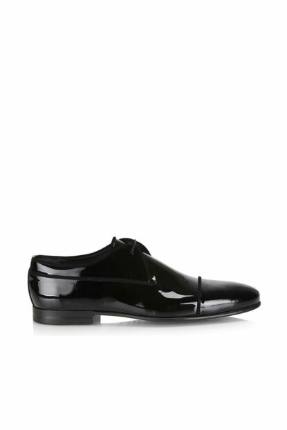 Genuine Leather Black Men Classic Shoes 02AYH131160A100