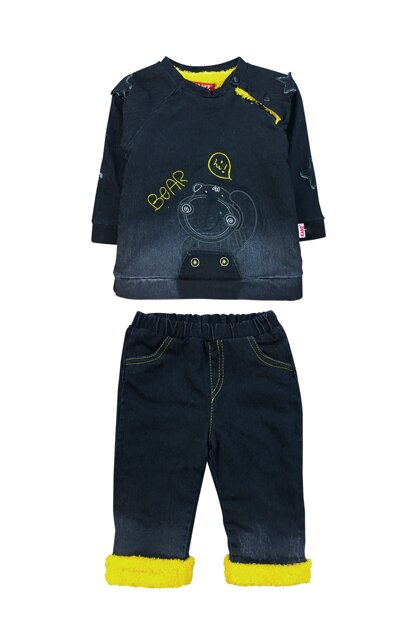 VELSOFT, EXTERIOR JEANS DETAILED SET-5106 F0836