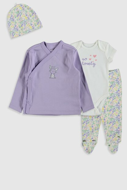Baby Girl BAY LİLA FKW Set of 4s 9W9169Z1