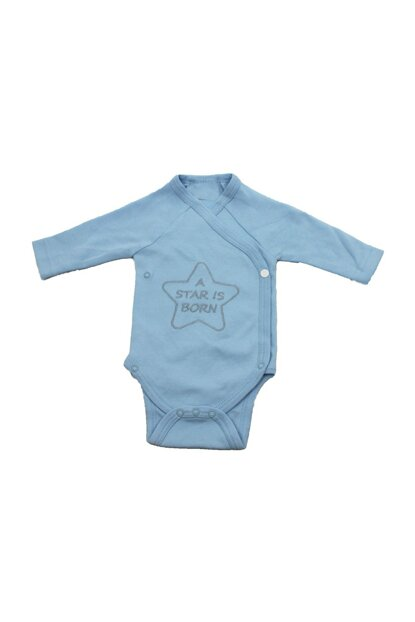 Star Born Newborn Baby Boy Long Sleeve Body UYGBB00351