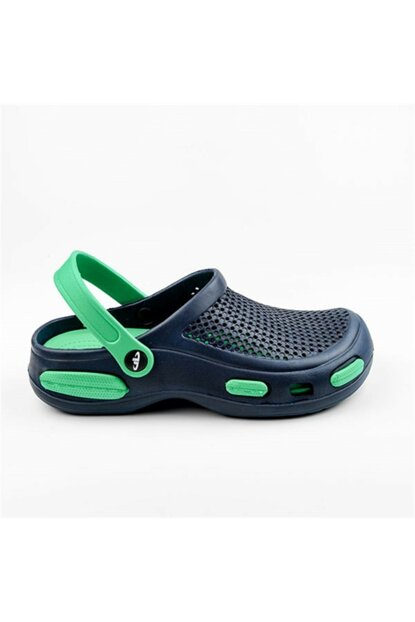 Men's Hospital Sabo Slippers Sandals Navy Blue Green 2056