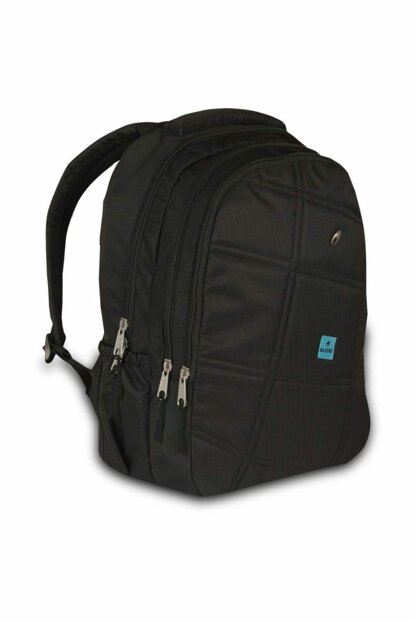Alone Bag 8415 Black Tablet Compartment Backpack - Three Compartments ALN8415-SYH