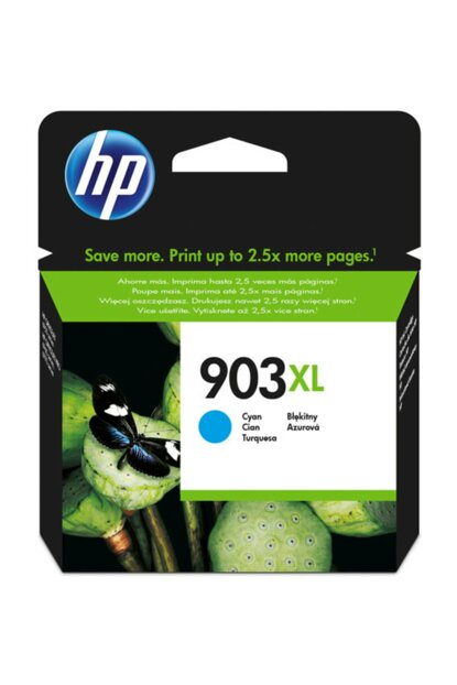 T6m03ae (903xl) Blue Ink Cartridge HP T6M03AE