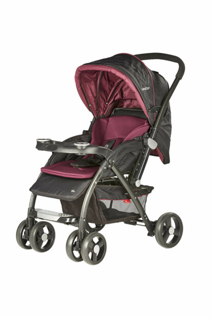 Baby2Go 6023 Bigger Double Way Baby Stroller Purple / 602334