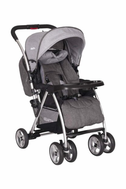 Back Bidirectional Baby Stroller Gray / B SH286 LG