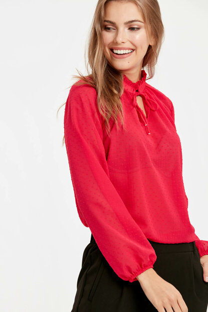 Women's Dark Pink Blouse