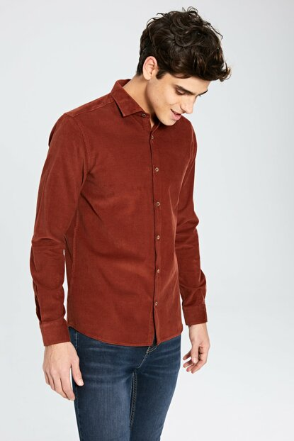 Men's Red Shirt 9W8228Z8