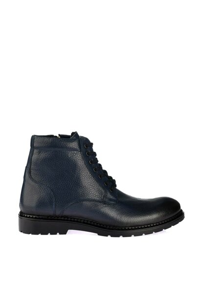 Genuine Leather Lacvert Men's Boots & Booties 02BOY163530A680