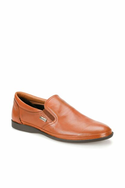 Genuine Leather Taba Men's Shoes 000000000100380075