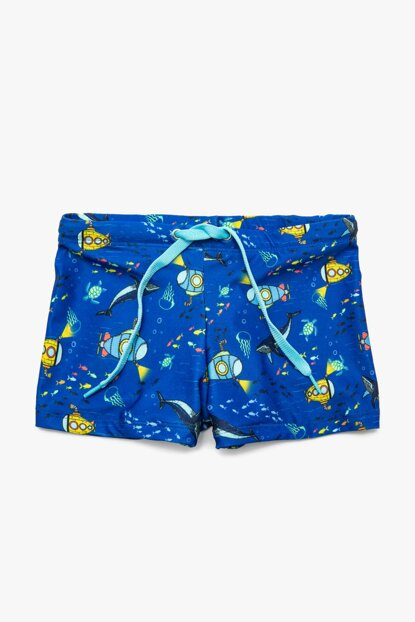 Blue Boy Patterned Sea Sortu 9YKB86078BM