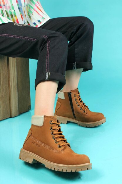 Genuine Leather Taba Boys Boots TY006SFA1002-16777230