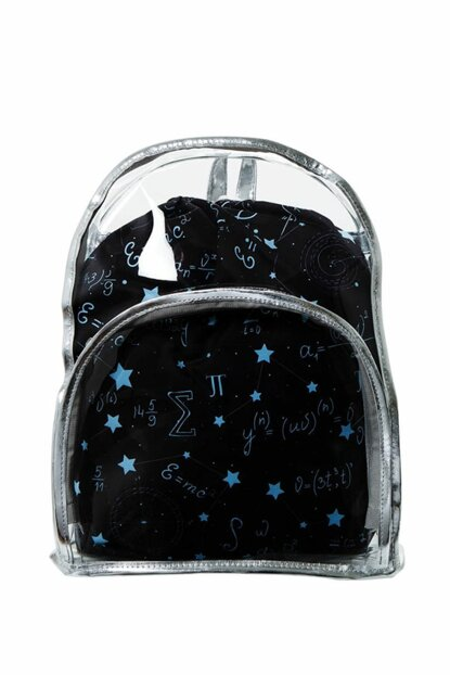 Transparent Backpack Einstein with Inner Bag BHP1872