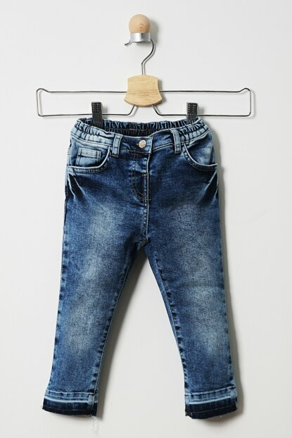 Baby Girl Denim Pants 19121091100